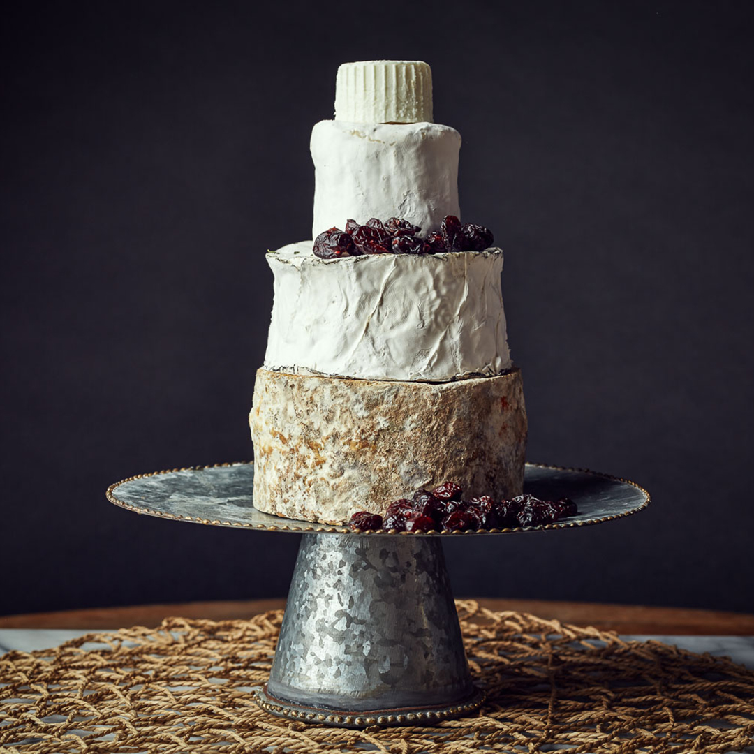 This is a picture of a Fromagination winter cake of cheese