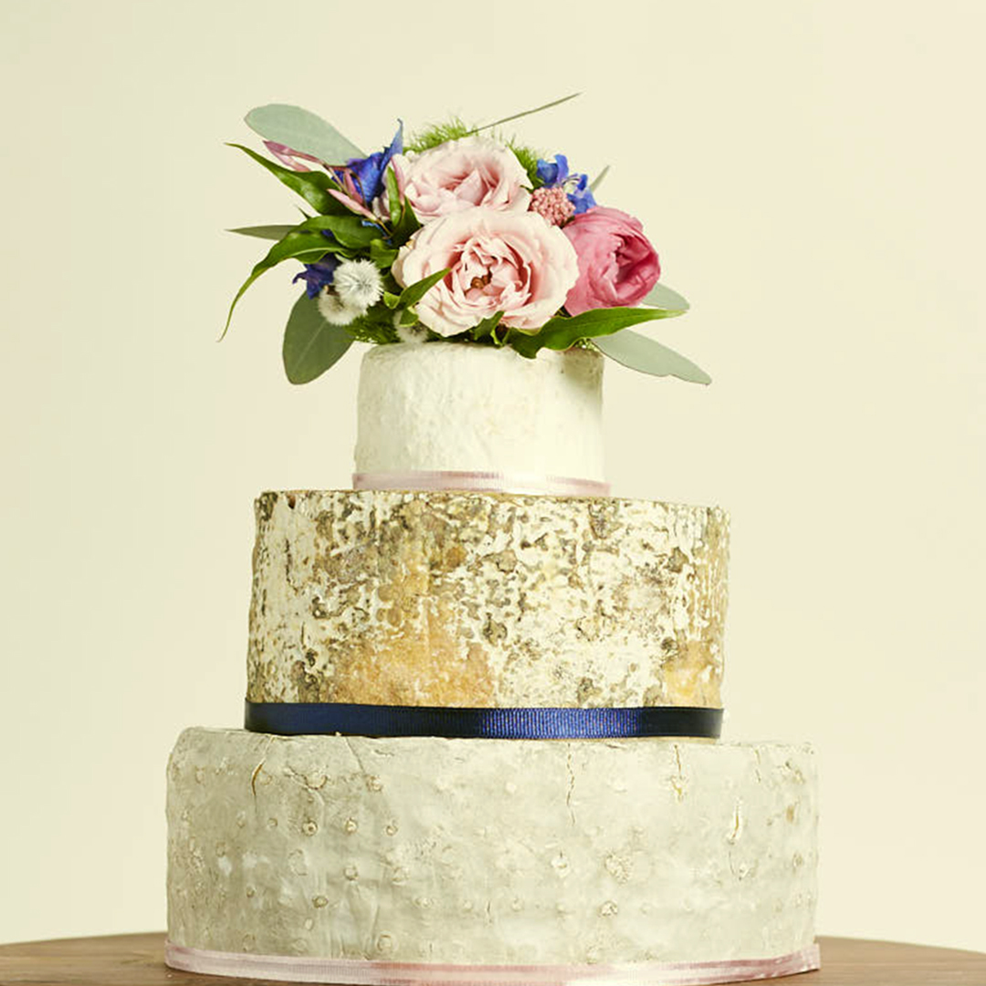 This is a picture of a Fromagination spring cake of cheese