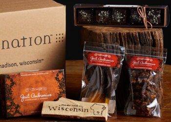 This is a picture of the Gail Ambrosius Sweet Set, offered by Fromagination.