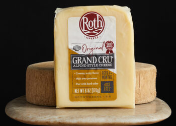 This is a picture of Grand Cru Original cheese, offered by Fromagination.