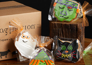 This is a picture of Hallowee Cookies, offered by Fromagination.