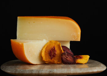 This is a picture of Sweet Annie cheese, featured by Fromagination.