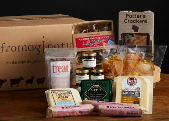 This is a picture of the Heavenly Trio Gift Set, offered by Fromagination.