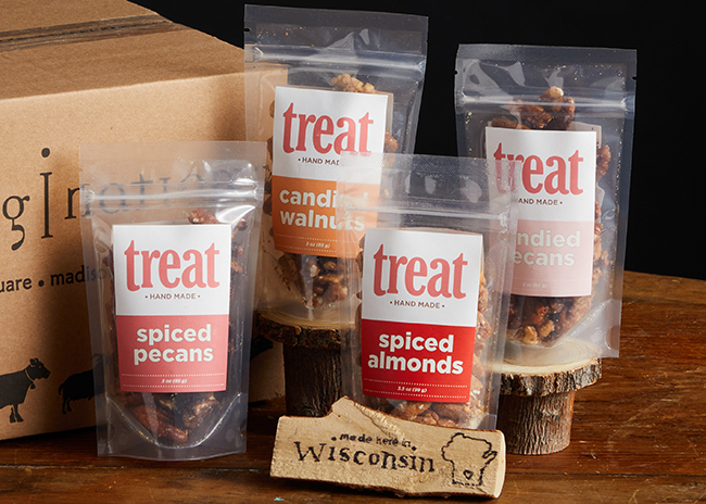 This is a picture of the Treat Nuts Gift Pack, offered by Fromagination.