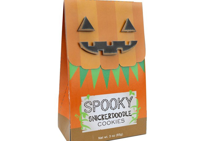 This is a picture of Trick or Treat Cookies, offered by Fromagination.