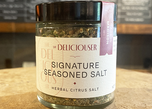 This a a picture of Herbal Citrus Salt, offered by Fromagination.